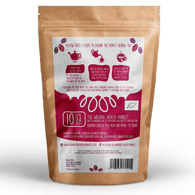 Organic echinacea tea 10 bags by The Natural Health Market