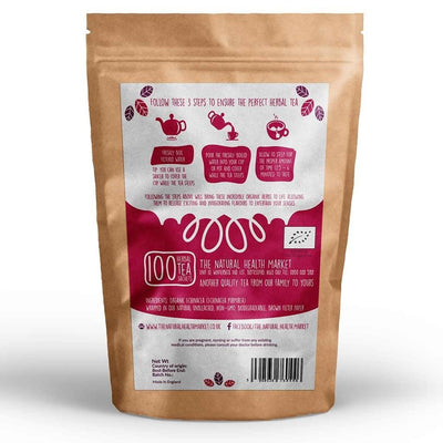 Organic echinacea tea 100 bags by The Natural Health Market