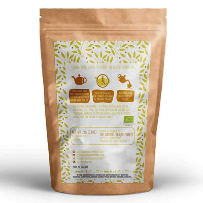 Organic ginger tea loose leaf 25g By The Natural Health Market