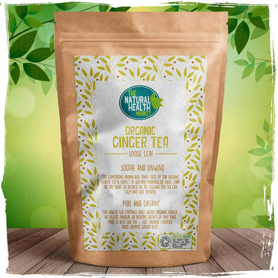 Organic ginger tea loose leaf By The Natural Health Market
