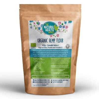 Organic hemp flour 800g By The Natural Health Market