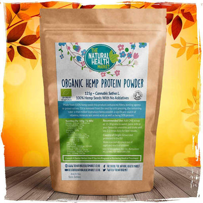Organic Hemp Protein Powder Grown and Processed In The EU.