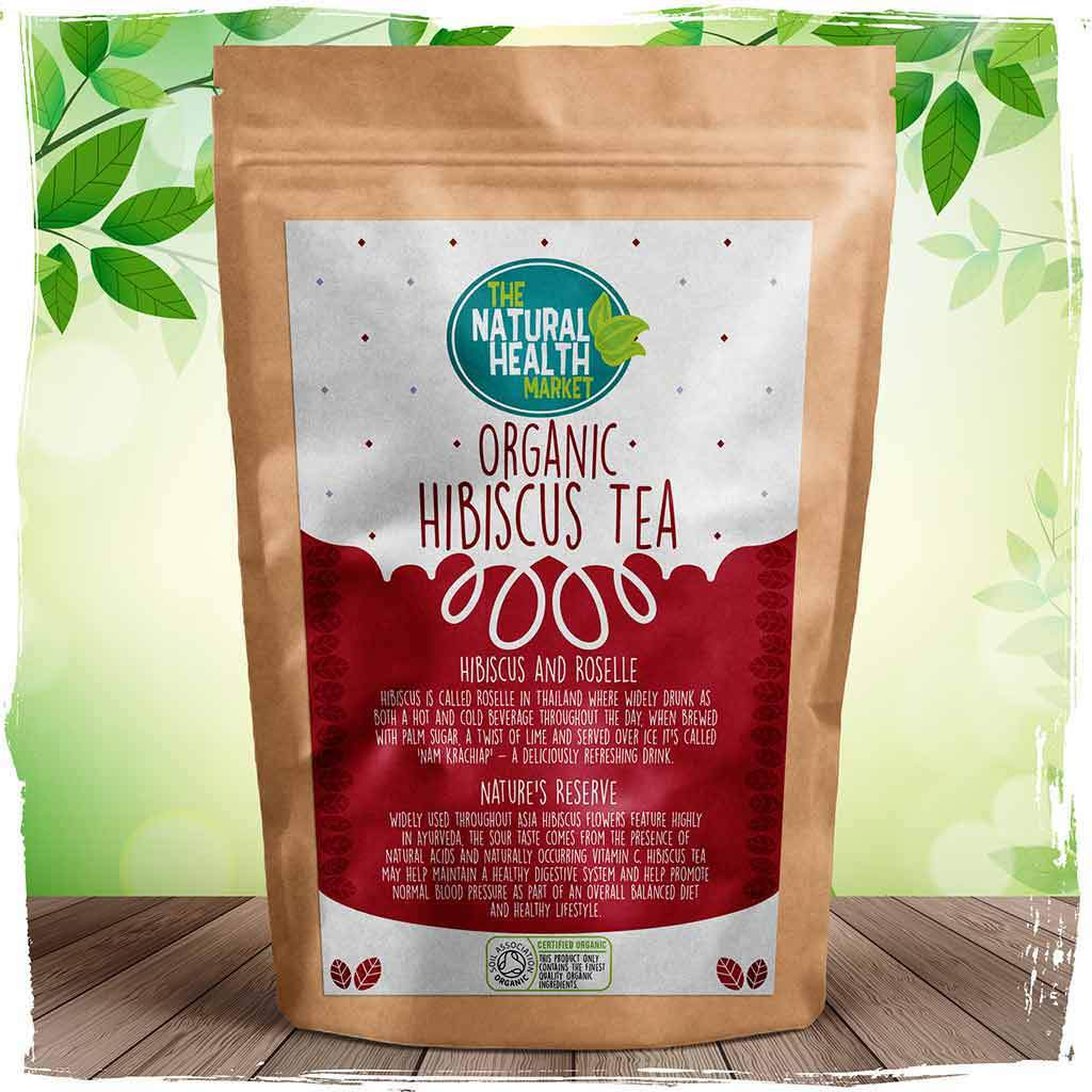Rosella tea or hibiscus tea is made from 100 hibiscus flowers organic hibiscus tea bags by the natural health market izmirmasajfo
