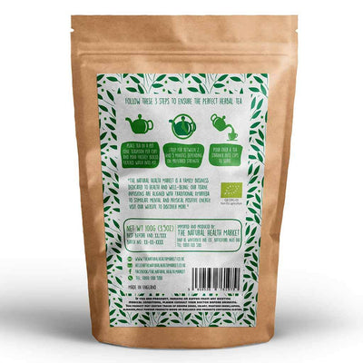 Organic Lemon Verbena Tea loose leaf 100g by The Natural Health Market