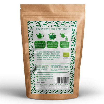 Organic Lemon Verbena Tea loose leaf 200g by The Natural Health Market