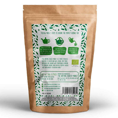 Organic Lemon Verbena Tea loose leaf 50g by The Natural Health Market