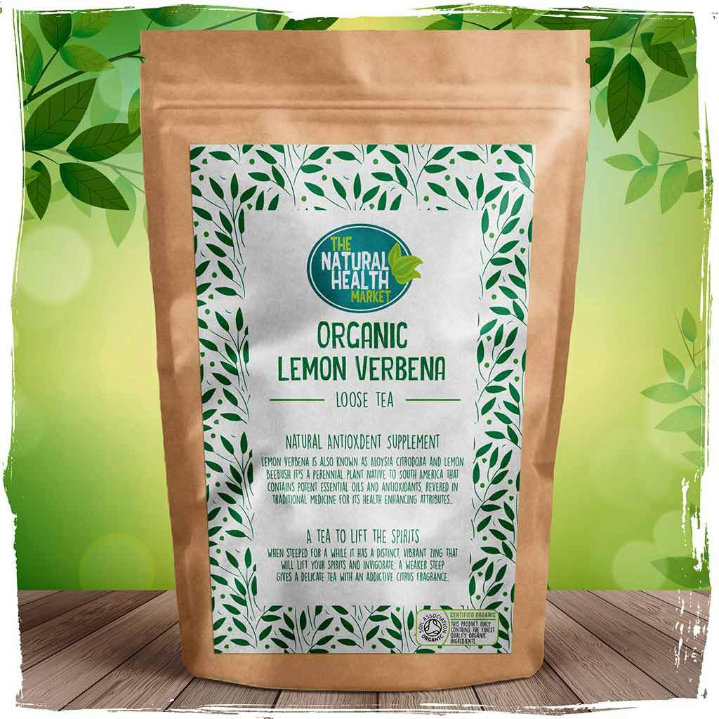 Organic Lemon Verbena Loose Leaf Tea