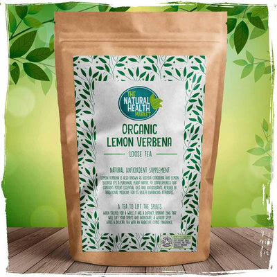 Organic Lemon Verbena Tea loose leaf by The Natural Health Market