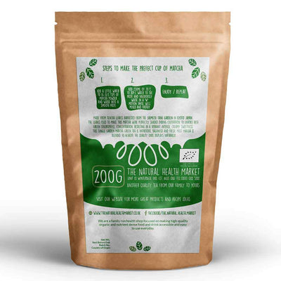 Organic Matcha Green Tea 200g By The Natural Health Market