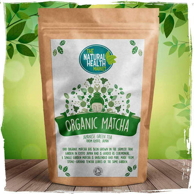 Organic Matcha Green Tea By The Natural Health Market