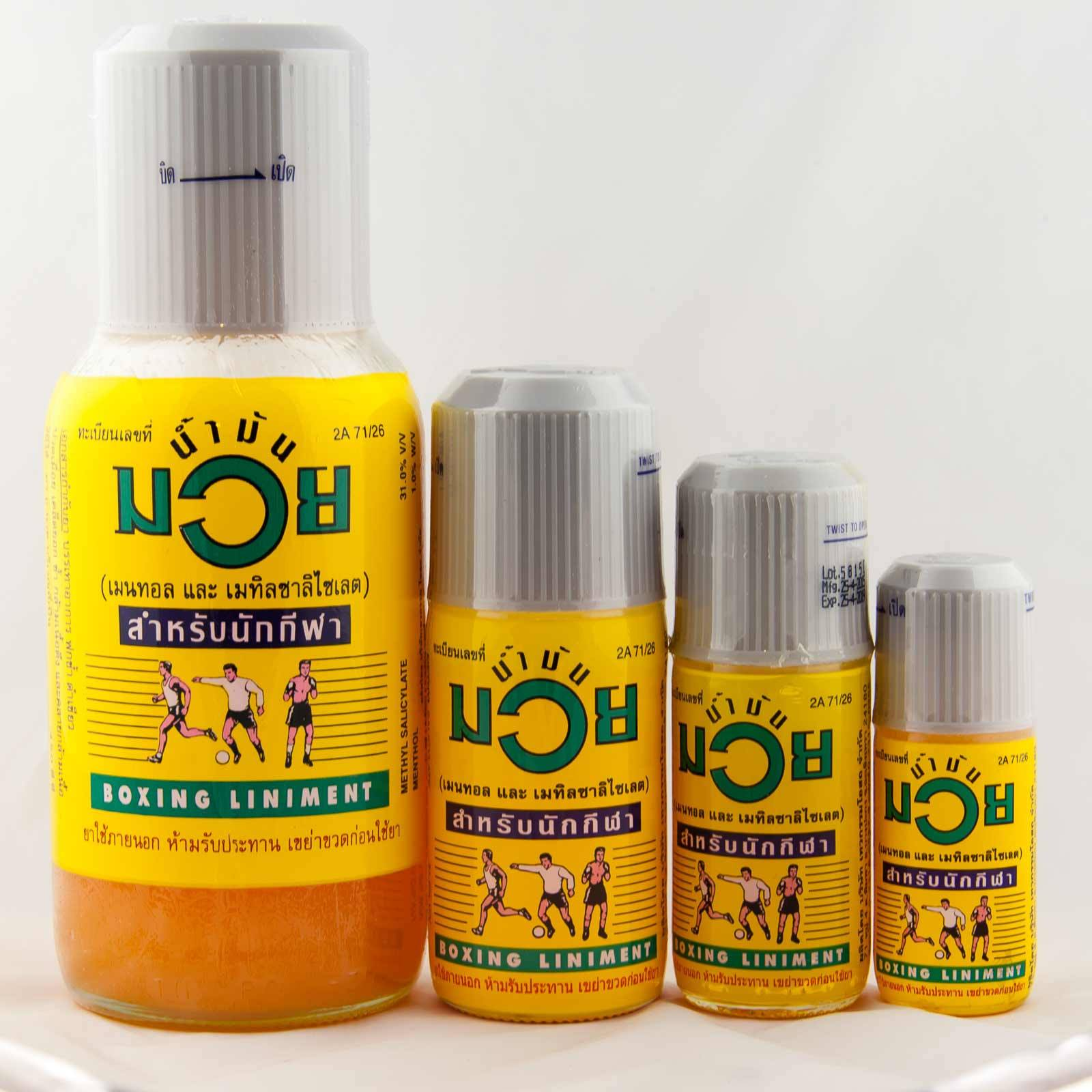 Muay Thai Liniment Oil