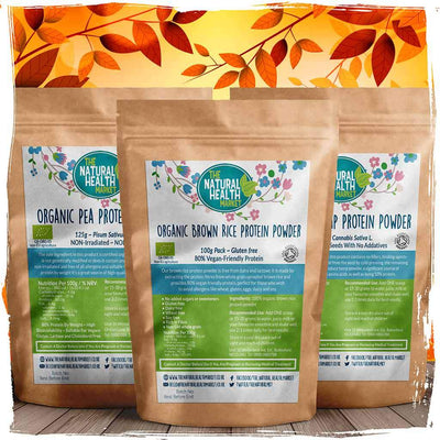 Plant Based Vegan Protein Powder Bundle Small By The Natural Health Market