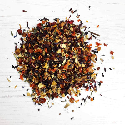 Racy Hibiscus and Ginger Loose Tea By The Natural Health Market