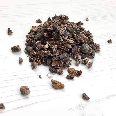 RAW organic cacao nibs criollo bean loose By The Natural Health Market