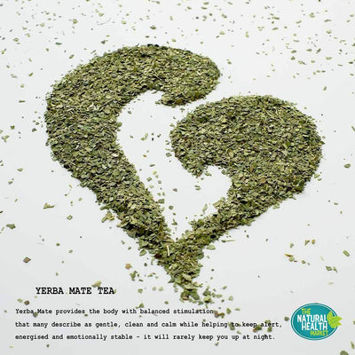 Natural yerba mate loose tea description by The Natural Health Market