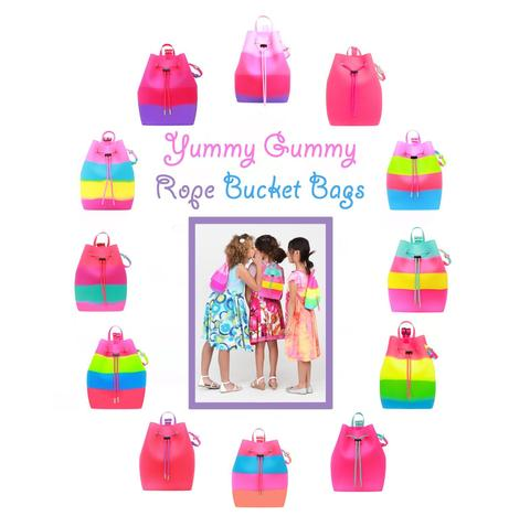 Yummy Gummy Bucket Bag with Motion Lights