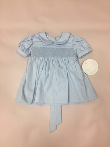 Krewe Blue on Blue Smock Dress