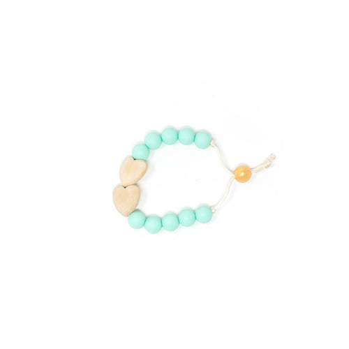 Hearts Hearts Hearts Bracelet- Children's Chewable Jewelry