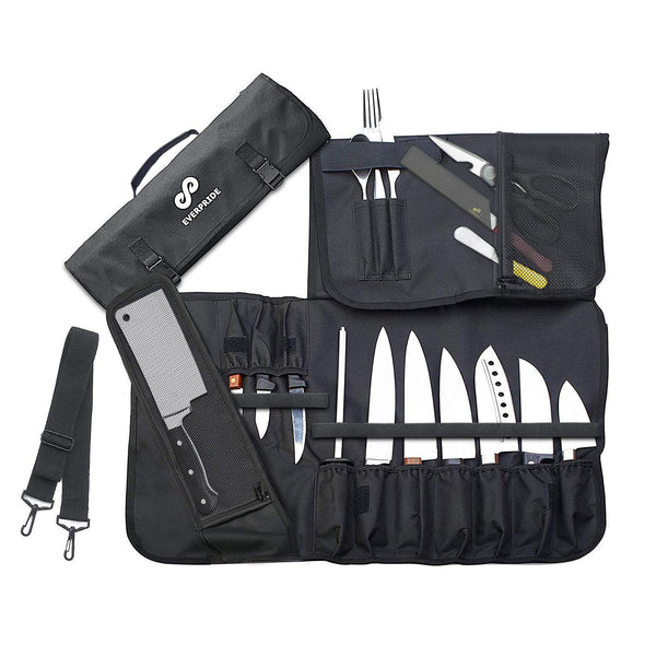Chef Knife Roll Bag (15 Slots)