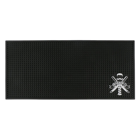 BARBER'S STATION MAT | MEDIUM BLACK