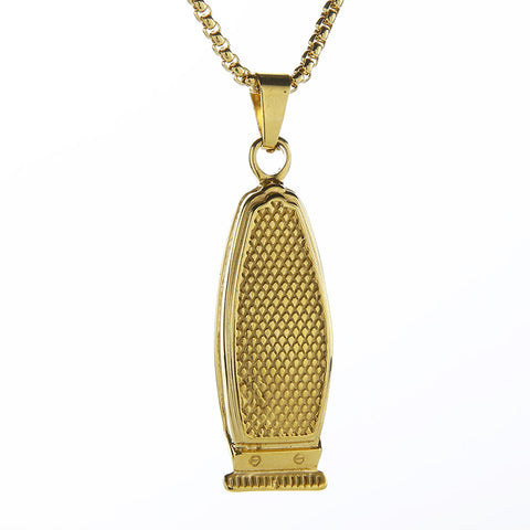 Clipper | Barber Jewelry | Necklace | Chain | Barrbers Co.