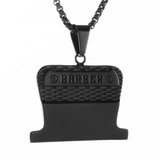 Barber's Steel | Barber Jewelry | Necklace | Chain | Barrbers Co.
