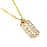Double Edge | Barber Jewelry | Necklace | Chain | Barrbers Co.