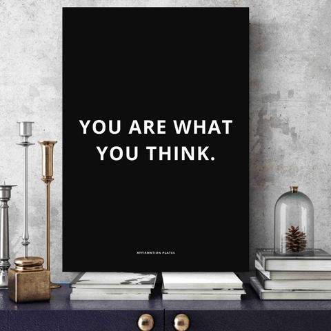 You Are. - Metal Print