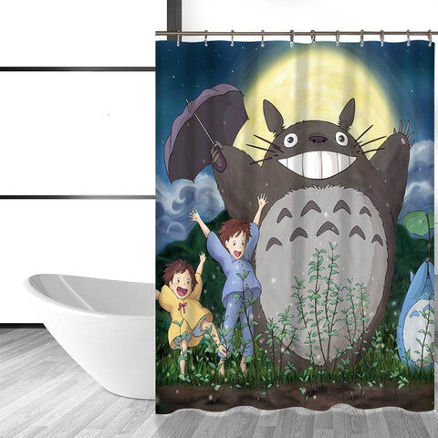 Totoro Shower Curtains