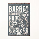 BARBERSHOP VINTAGE TIN SIGN