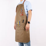 Barber Apron | SAND | Barrbers Co.