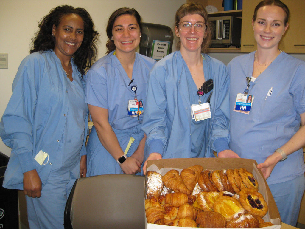 Pastries for hospitals/first responders