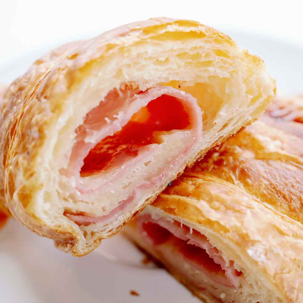 FROZEN READY TO BAKE Ham and Cheese Croissant (x4)