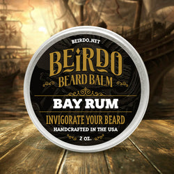Beirdo Beard Balm - Bay Rum - 2 oz.