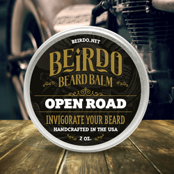 Beirdo Beard Balm - Open Road - 2 oz.
