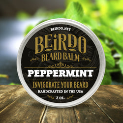 Beirdo Beard Balm - Peppermint - 2 oz.