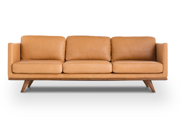 Stylish Modern Vintage Leather Sofa