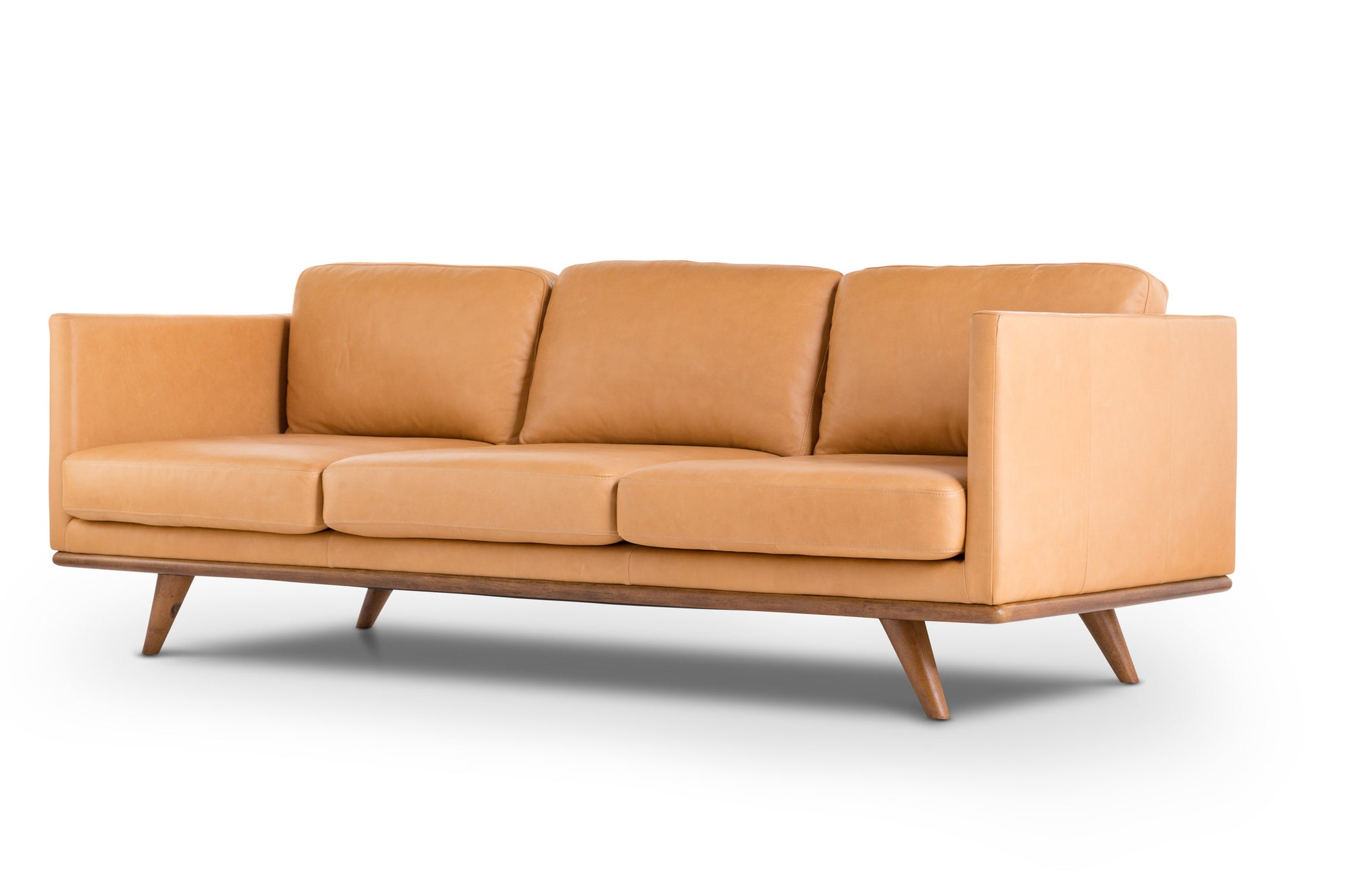 modern leather contemporary sofa