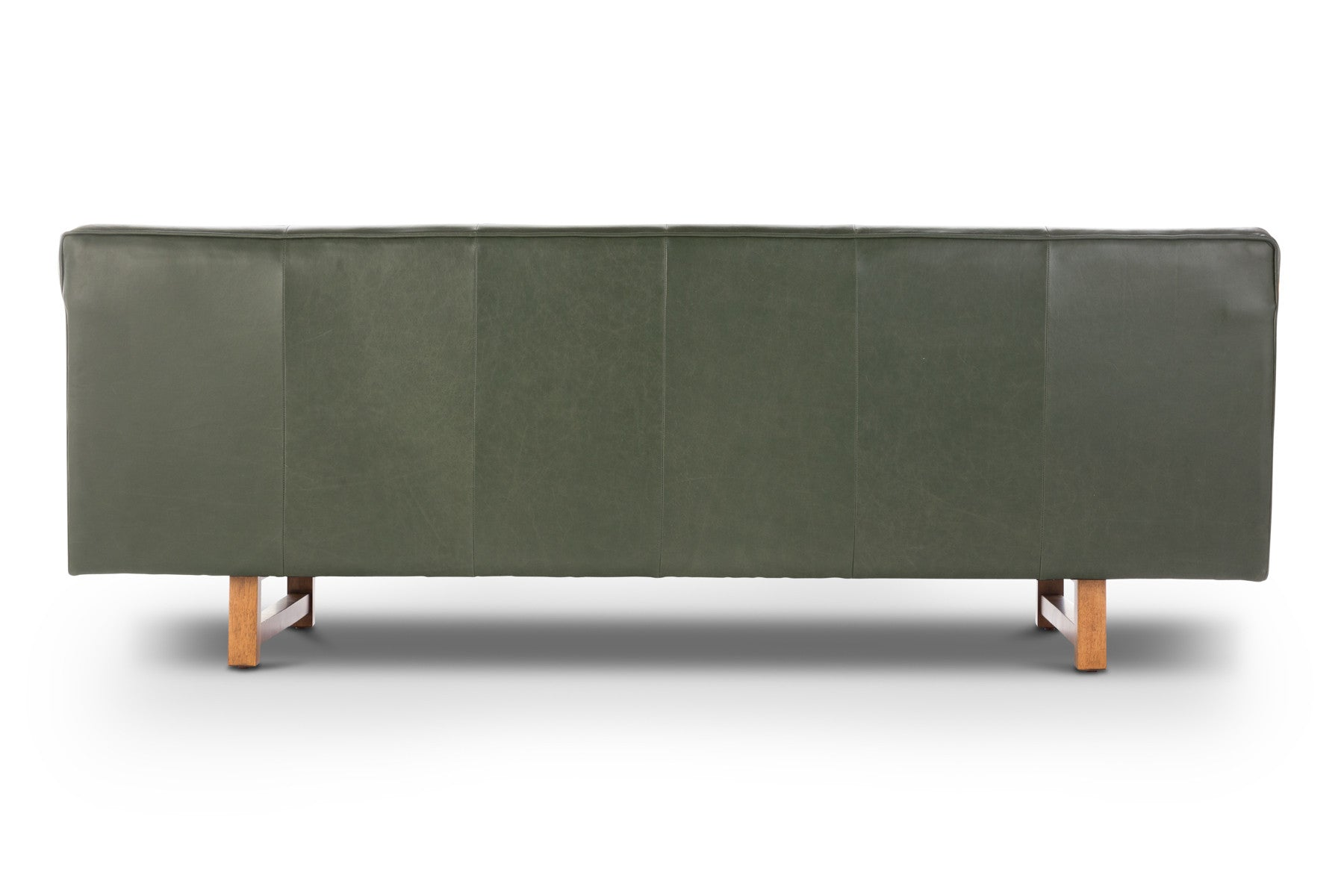 Contemporary Italian leather sofa