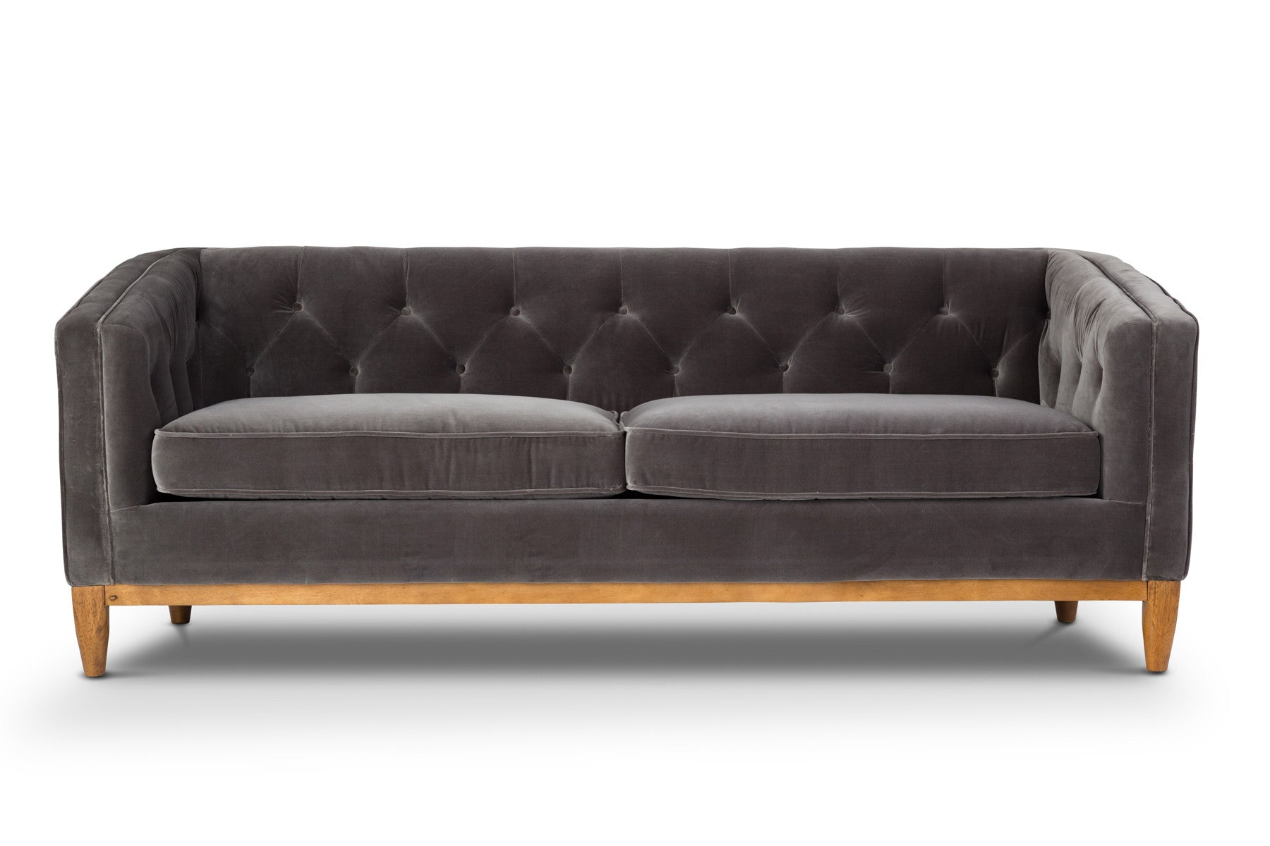 Classic and Contemporary Velvet Sofa
