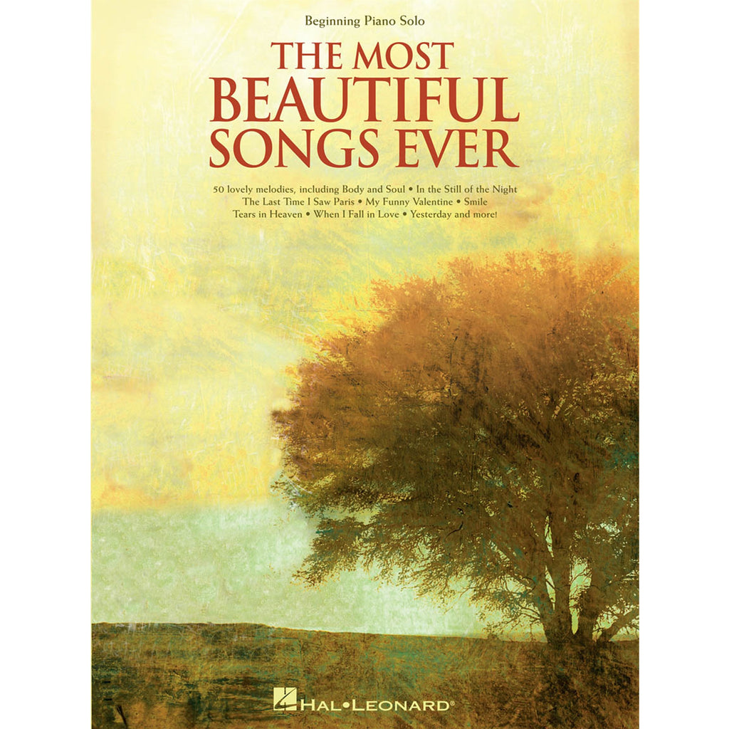 HAL LEONARD 110402 The Most Beautiful Songs Ever