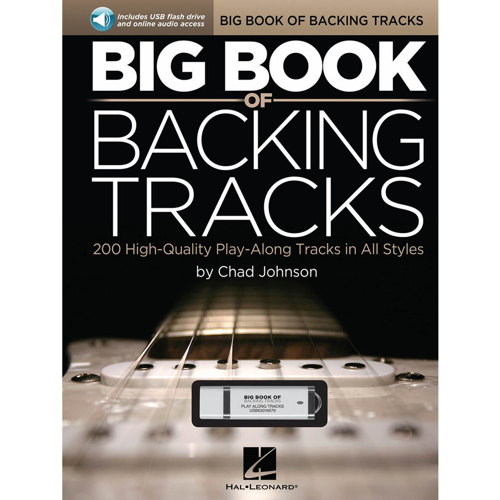 HAL LEONARD 119678 Big Book of Backing Tracks