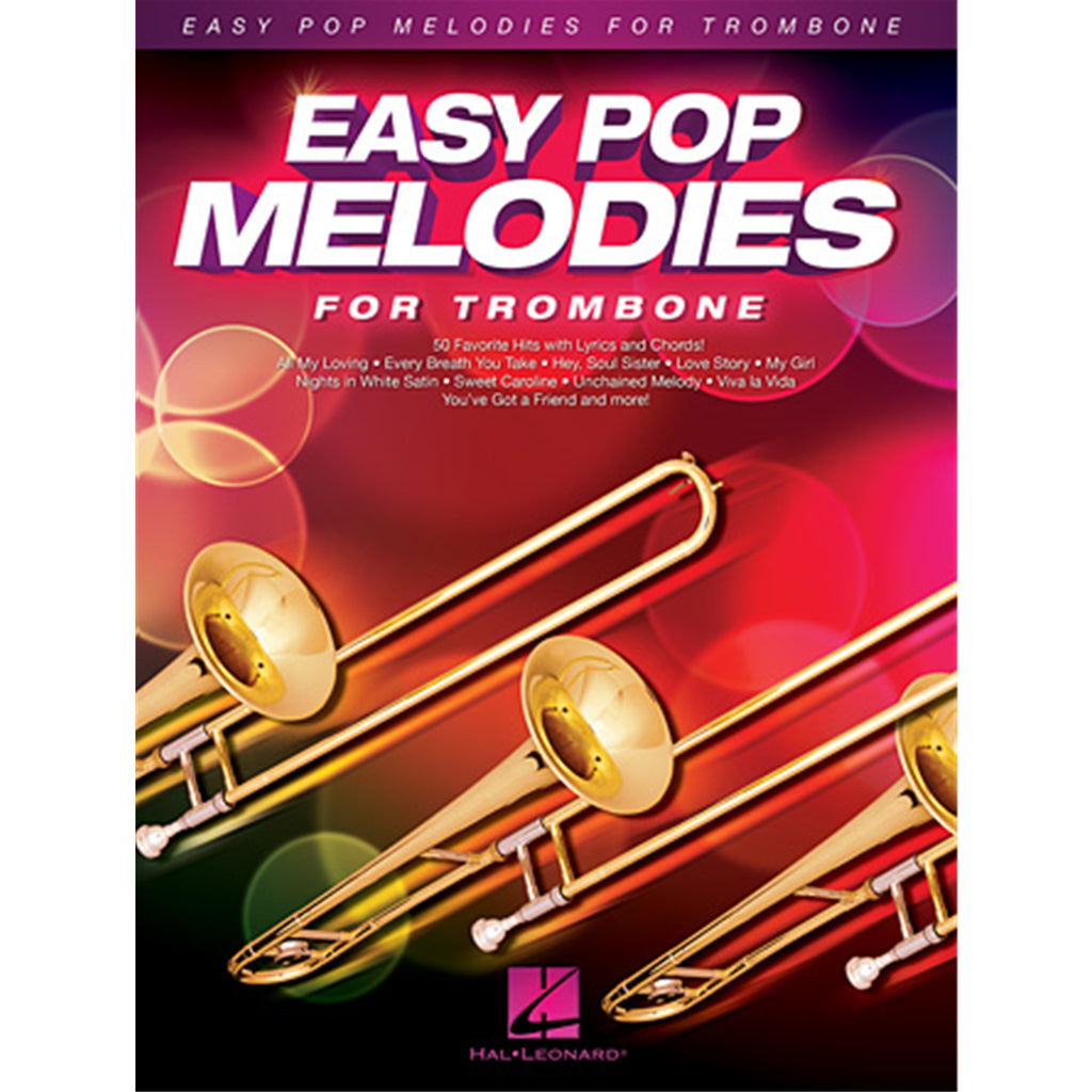 HAL LEONARD 125789 Easy Pop Melodies (Trombone)