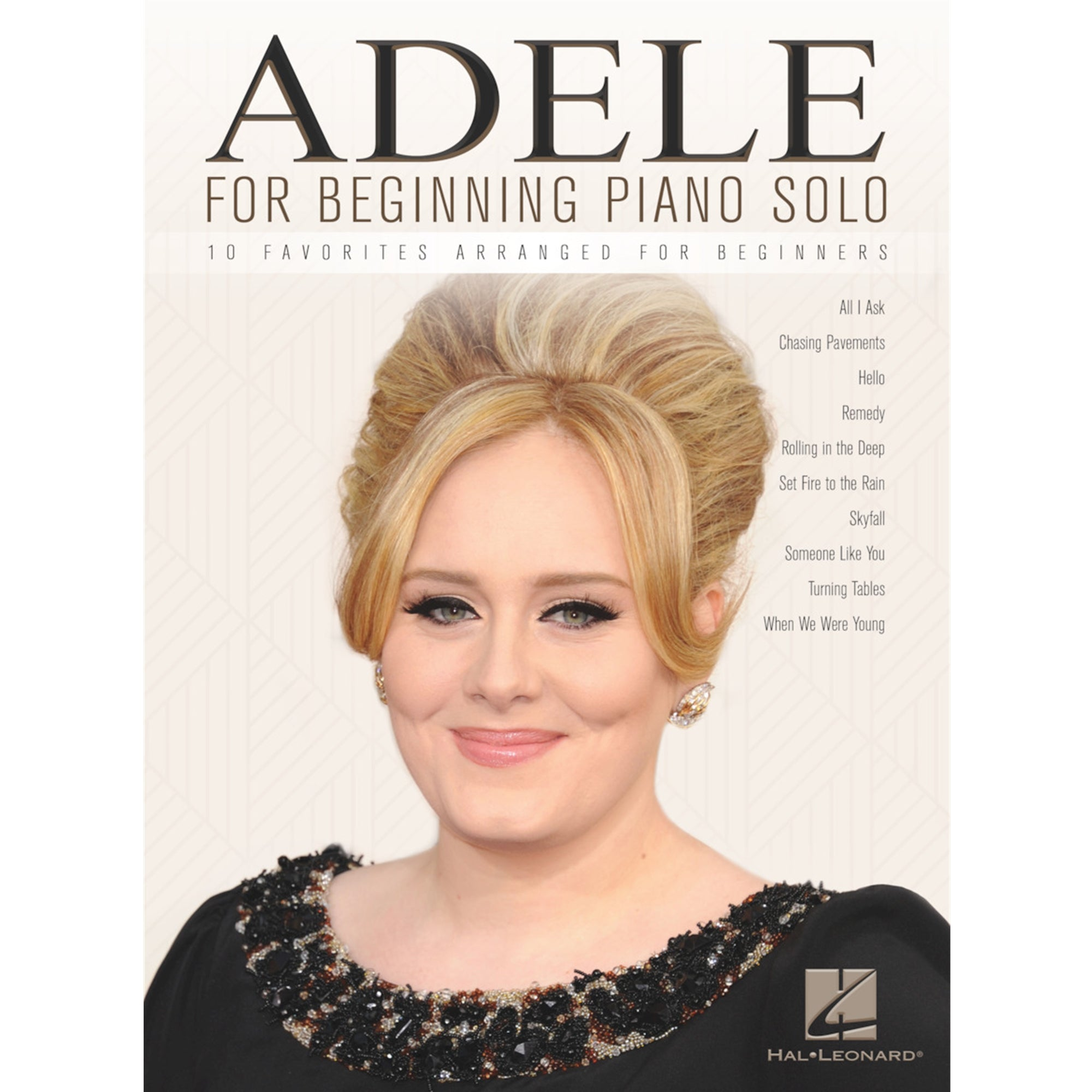 HAL LEONARD 156395 Adele for Beginning Piano Solo