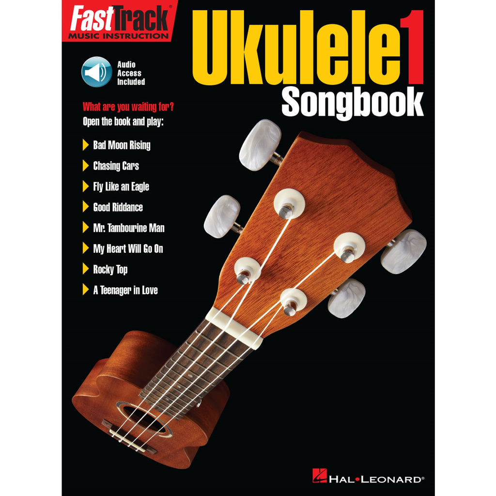 HAL LEONARD 158671 FastTrack Ukulele Songbook - Level 1