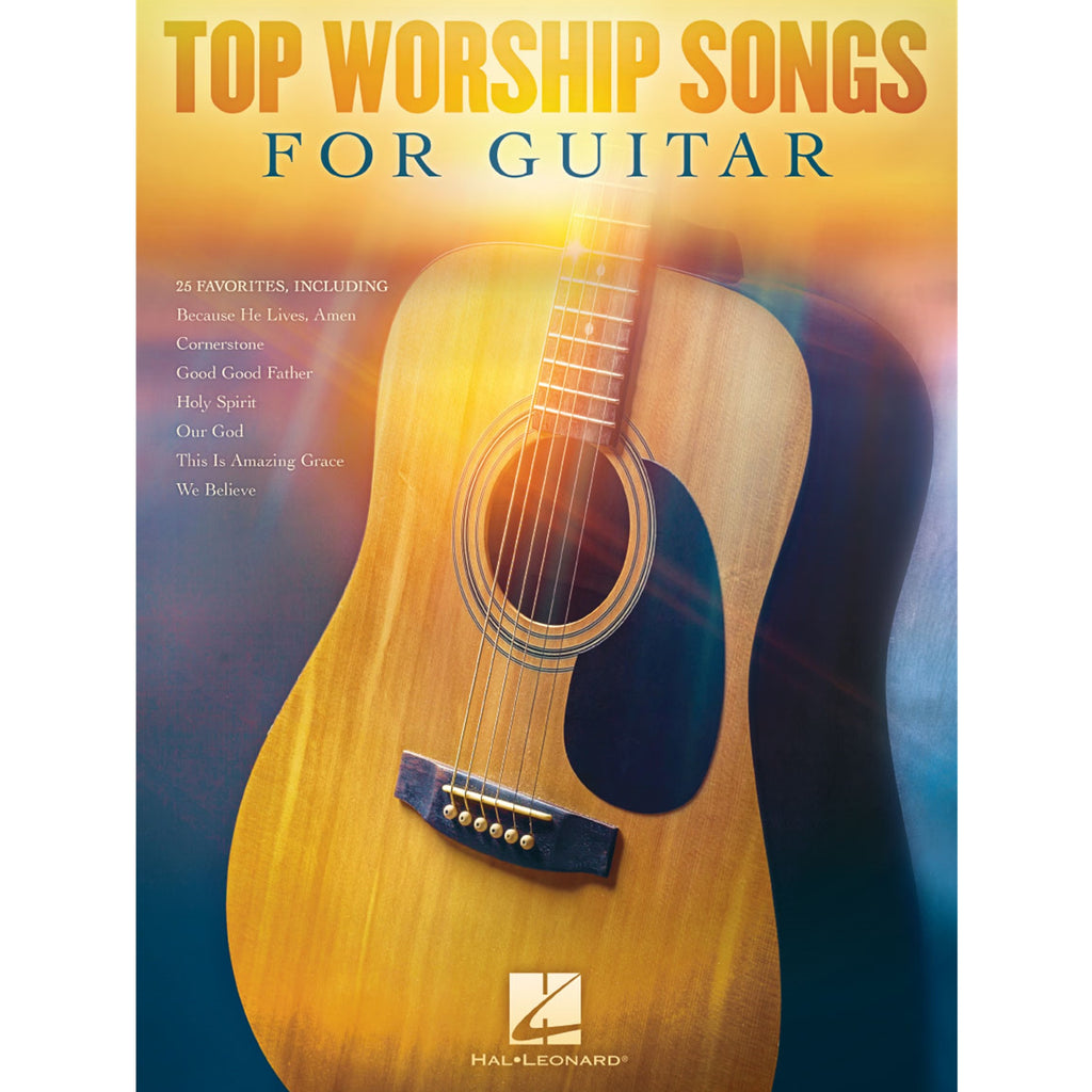 HAL LEONARD 160854 Top Worship Songs for Guitar