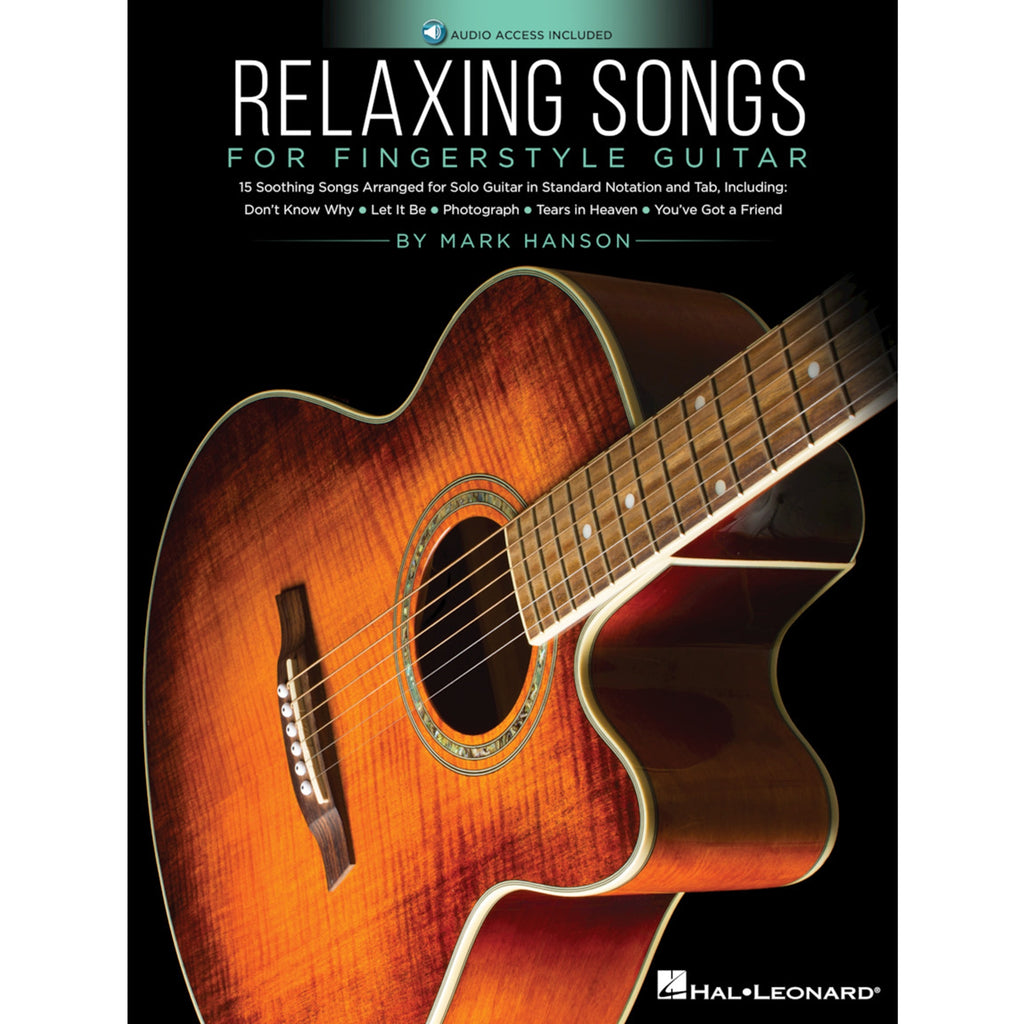 HAL LEONARD 236203 Relaxing Songs for Fingerstyle Guitar