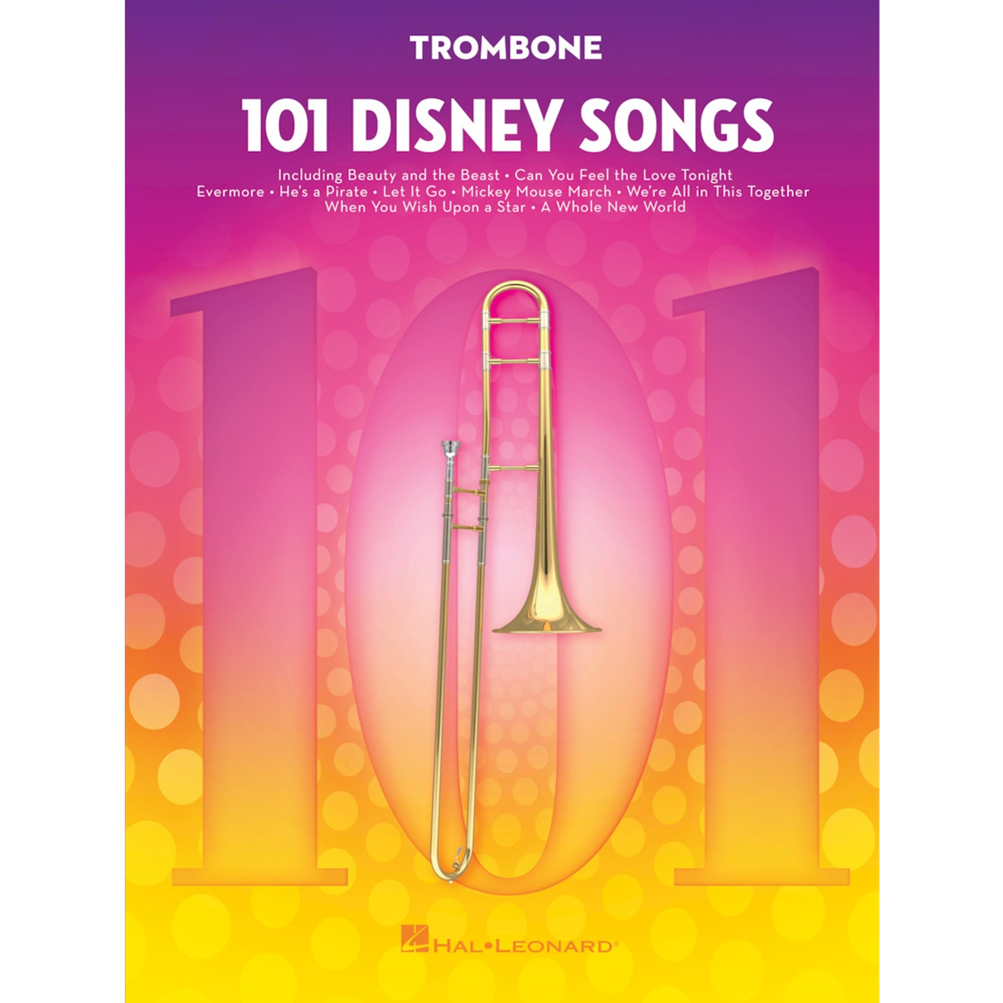 HAL LEONARD 244120 101 Disney Songs Trombone