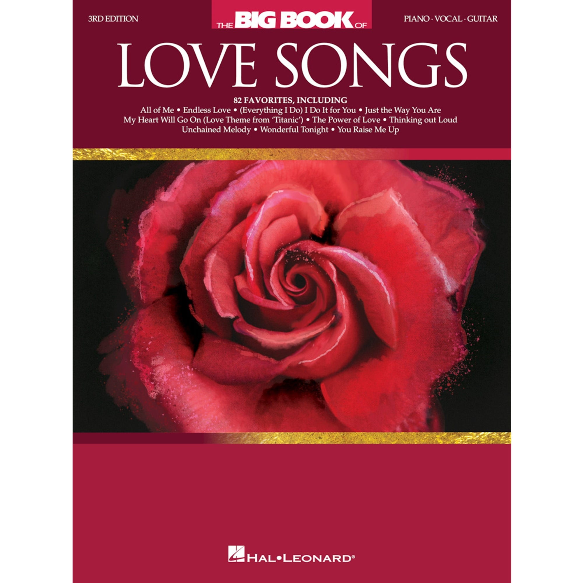 HAL LEONARD 257807 The Big Book of Love Songs - 3rd Edition