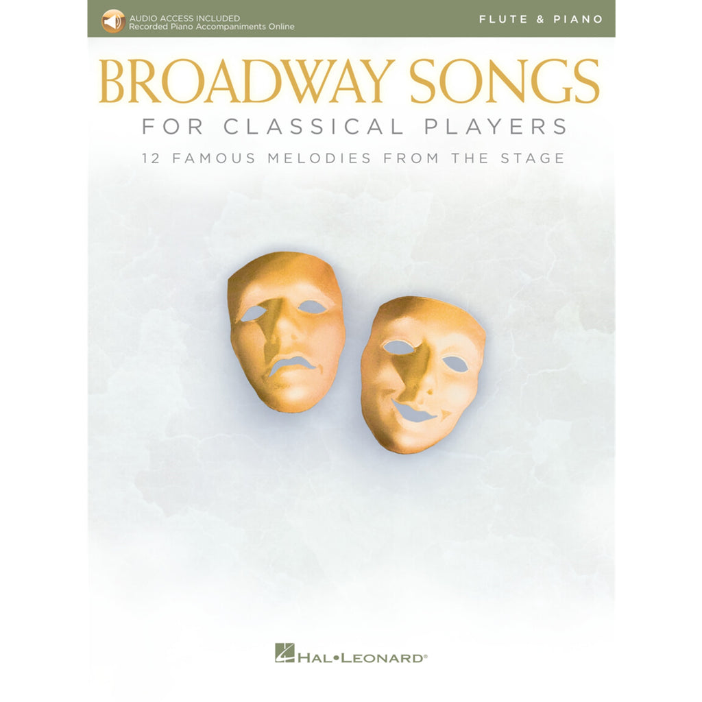 HAL LEONARD 265892 Broadway Songs for Classical Players - Flute and Piano